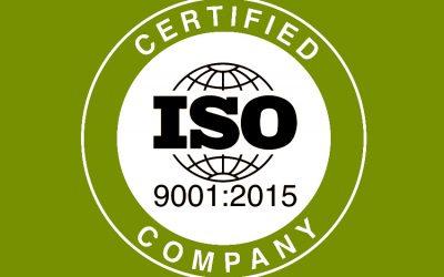 Devcon ISO 9001 gecertificeerd