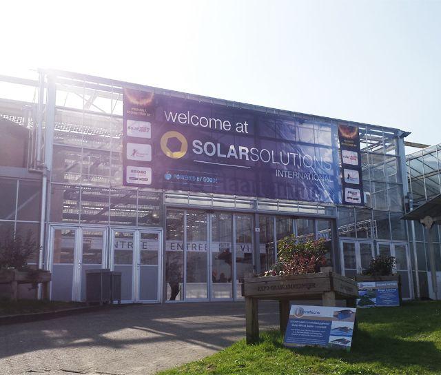 Devcon Ecosystems bezoekt beurs Solar Solutions