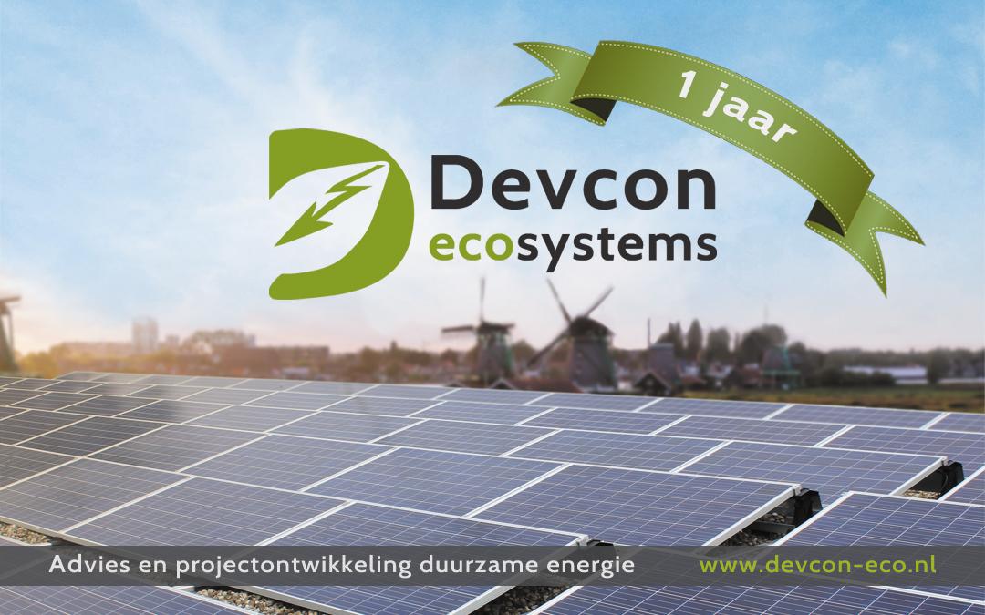 Devcon Ecosystems bestaat 1 jaar!