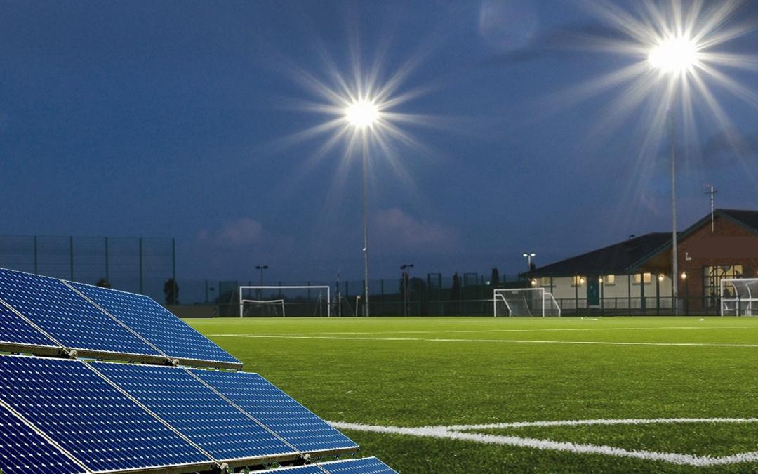 Sportvereniging Fortuna Wormerveer kiest voor duurzame energie