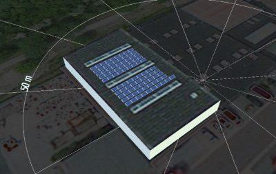 voorbeeldinstallatie zonne-energie
