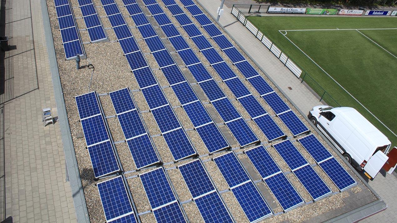 Zonne-energie Sportvereniging Fortuna Wormerveer
